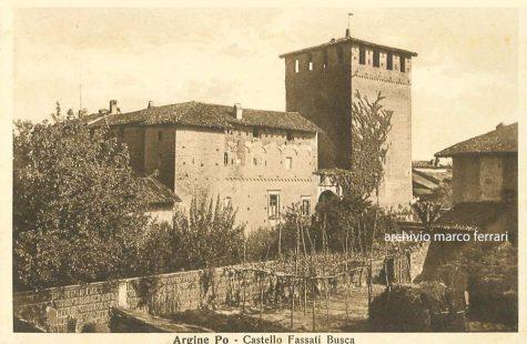 [1942] Castello Fassati Busca del XIV-XV secolo in frazione Argine